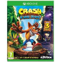 Jeu Xbox One Crash Bandicoot N. Sane Trilogy Jeu Xbox One - Activision