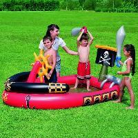 Jeux De Piscine - Jeux Gonflables Aire de jeux Pirate - 191cm X 140cm X 96cm