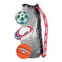 Jeux De Recre - Jeux D'exterieur CDTS Ensemble 3 Ballons : Basket  + Foot + Rugby