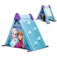 Jeux De Recre - Jeux D'exterieur FEBER - Maison pour Enfant 3 en 1 : Mur. Tente et Tableau - La Reine des Neiges