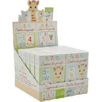 Jeux De Societe 12x Jeux de cartes 123 - ABC Sophie la girafe