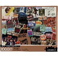 Jeux De Societe AQUARIUS Puzzle 1000 pieces AC / DC Albums - 65305