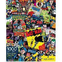 Jeux De Societe AQUARIUS Puzzle 1000 pieces DC Comics Batman Collage - 65214