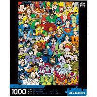 Jeux De Societe AQUARIUS Puzzle 1000 pieces DC Comics Rétro Cast - 65378