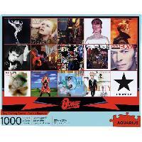 Jeux De Societe AQUARIUS Puzzle 1000 pieces David Bowie Albums - 65330