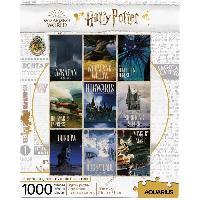 Jeux De Societe AQUARIUS Puzzle 1000 pieces Harry Potter Poster Voyages - 65383