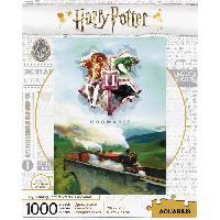 Jeux De Societe AQUARIUS Puzzle 1000 pieces Harry Potter Train - 65344