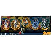 Jeux De Societe AQUARIUS Puzzle 1000 pieces panorama Harry Potter 4 Maisons - 73029