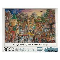 Jeux De Societe AQUARIUS Puzzle 3000 pieces A Magical Mystery Tour of 100 Beatles Songs - 68504