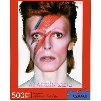 Jeux De Societe AQUARIUS Puzzle 500 pieces David Bowie Aladdin Sane - 62198