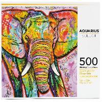 Jeux De Societe AQUARIUS Puzzle 500 pieces Dean Russo Elephant - 62503