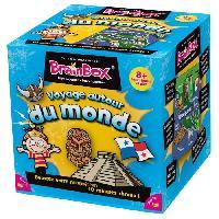Jeux De Societe ASMODEE - BrainBox Voyage autour du Monde - Jeu de société
