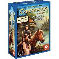 Jeux De Societe ASMODEE - Carcassonne - Extension1 Auberges Cathédrales - Nouvelle Version - Jeu de société