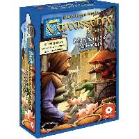 Jeux De Societe ASMODEE - Carcassonne - Extension 2 Marchands & Bâtisseurs - Jeu de société