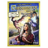 Jeux De Societe ASMODEE - Carcassonne - Extension 3 Princesse et Dragon - Jeu de societe