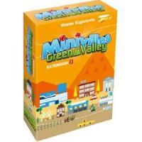 Jeux De Societe ASMODEE - Minivilles - Extension Green Valley - 72 nouvelles cartes - Jeu de societe - Mixte - A partir de 7 ans