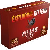 Jeux De Societe ASMODEE Exploding Kittens