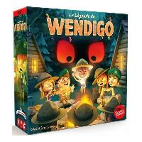 Jeux De Societe ASMODEE La Legende du Wendigo