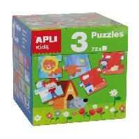 Jeux De Societe Cube 3 puzzles differents