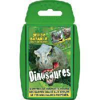 Jeux De Societe Jeu de bataille Dinosaures TOP TRUMPS - ADNAuto