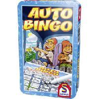 Jeux De Societe Jeu de voyage Auto Bingo boite metal - Schmidt