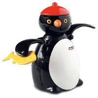 Jeux D'eau - Jeux De Plage AMBITOYS Peter le pingouin - 12 mois - Multicolore - Plastique - 9 x 9 x 14 cm