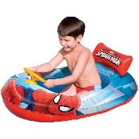 Jeux D'eau - Jeux De Plage BESTWAY Bateau gonflable enfant SpiderMan - Marvel