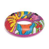 Jeux D'eau - Jeux De Plage BESTWAY Bouée gonflable Fashion Pop - Ø 119 cm