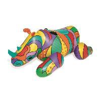 Jeux D'eau - Jeux De Plage BESTWAY Chevauchable Fashion Pop Rhino - 201 x 102 cm - Bouée gonflable