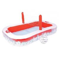 Jeux D'eau - Jeux De Plage BESTWAY Piscine Volley 2 boudins - 254 x 168 x 97 cm