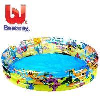 Jeux D'eau - Jeux De Plage BESTWAY Piscine gonflable océan life - 122 cm x 25 cm