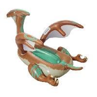 Jeux D'eau - Jeux De Plage Chevauchable Dinosaure - Ailes et pagaies - 135 x 198 cm