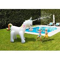 Jeux D'eau - Jeux De Plage DIDAK POOL - Fontaine Licorne Géante - 210cm - Aucune