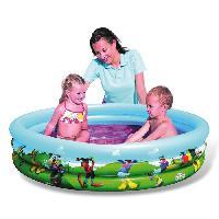 Jeux D'eau - Jeux De Plage DISNEY Club House Piscine 3 boudins - Diam 122cm X 25cm