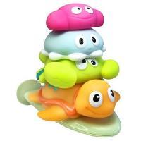 Jeux D'eau - Jeux De Plage ESCABBO Pyramide 4 animaux marins