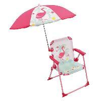 Jeux D'eau - Jeux De Plage FUN HOUSE Chaise Parasol Flamant Rose Pour Enfant