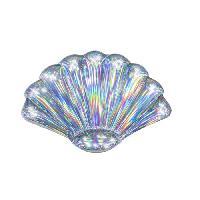 Jeux D'eau - Jeux De Plage Matelas gonflable iridescent coquillage 180 x 112 cm