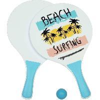 Jeux D'eau - Jeux De Plage Raquettes de plage en bois