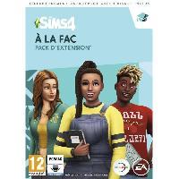 Jeux Dematerialises Les SIMS 4 - A la Fac - Pack d'Extension - Jeu PC a télécharger