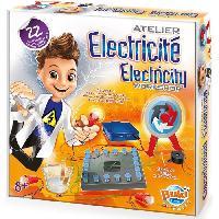 Jeux Scientifiques BUKI FRANCE Jeu d'atelier Electricité - A partir de 8 ans