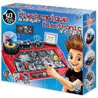 Jeux Scientifiques BUKI FRANCE Jeu de montages électroniques expert - + 8 ans