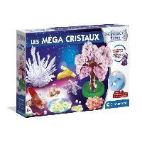 Jeux Scientifiques CLEMENTONI - 52490 - Les méga cristaux