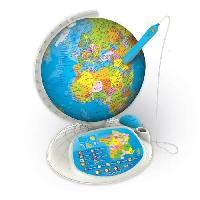Jeux Scientifiques CLEMENTONI - EXPLORAGLOBE Connect Le globe interactif évolutif - Jeu éducatif - 52202