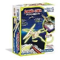 Jeux Scientifiques CLEMENTONI Archeo Ludic - Pteranodon Phosphorescent - Science et Jeu