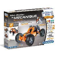 Jeux Scientifiques CLEMENTONI Mon Atelier de Mecanique - Buggy et Quad