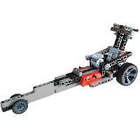 Jeux Scientifiques CLEMENTONI Mon Atelier de Mécanique - Roadster & Dragster
