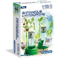 Jeux Scientifiques CLEMENTONI Science et Jeu -Botanique et Hydroponie - Jeu scientifique