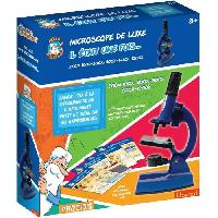 Jeux Scientifiques HELLO MAESTRO IL ÉTAIT UNE FOIS 430350 - Microscope Zoom 100 a 1200 - 66 accessoires + 40 Expériences