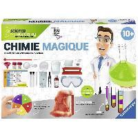 Jeux Scientifiques Maxi Chimie Magique Jeu Educatif