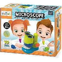 Jeux Scientifiques Mini Sciences - Microscope - Jeu éducatif - Jeu scientifique - BUKI